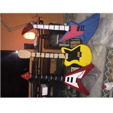 Custom Made Guitar Prop for Parties Concerts Events Photography