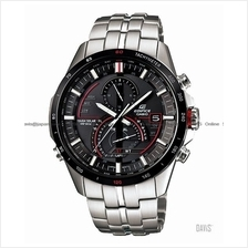 CASIO EQS-A500DB-1AV EDIFICE solar chronograph SS bracelet black