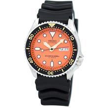 SEIKO . SKX011J1 . Diver . M . RSB . Automatic . Orange . Japan Made