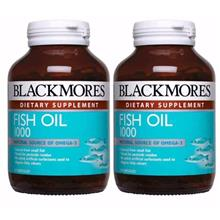 BLACKMORES Fish Oil 1000 120s TWIN PACK)