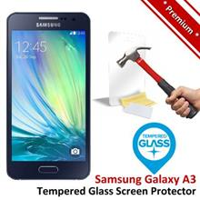 Premium Quality Samsung Galaxy A3 Tempered Glass Screen Protector