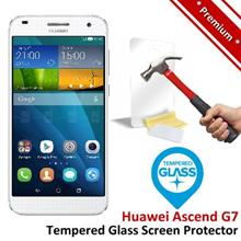 Premium Protection Huawei Ascend G7 Tempered Glass Screen Protector
