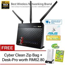 ASUS RT-AC68U Dual-Band 2.4GHz & 5GHz 1900Mbps Wireless-AC Router