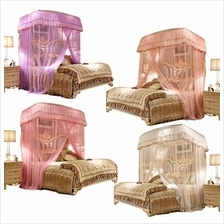 Luxury Elegant Foldable Mosquito Nets Princess Flower Bed Insect Repel