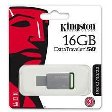 KINGSTON Flash Drive USB3.1 DT50 16GB (DT50/16GBFR) GREEN