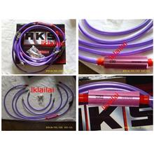 HKS Nano Tech Grounding & Alternator Power Cable Grounding Wire Purple