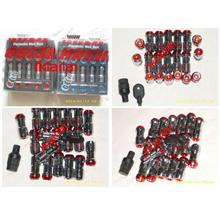 VOLK RACING Formula Nut 20pcs/set; 1.5mm Diameter; 4.5cm Long