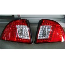 Proton Saga 2 BLM LED Tail Lamp Red / Smoke