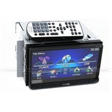Kenwood DDX-6033 7 inch VGA Double Din Monitor DVD Player Touch Screen