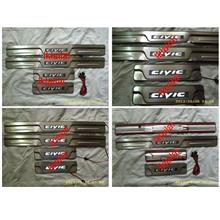 Honda CIVIC '12 Door / Side Sill Plate With LED Light [4pcs/set]