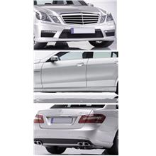 Mercedes Benz E-Class W212 `09-10 AM E63 Full Set BodyKit Bumper+Skirt