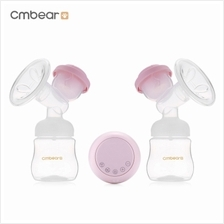 Cmbear ZRX - 0618 BPA Free USB Double Electric Breast Pump (LIGHT PINK)