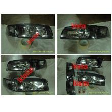 Mitsubishi Lancer `95-00 CK2 HEAD LAMP CRYSTAL GLASS LENS+CORNER LAMP