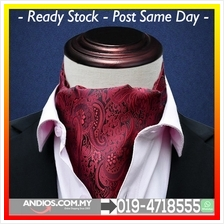 Fashion Mens Suits Towel Scarf Neckline Variety Red