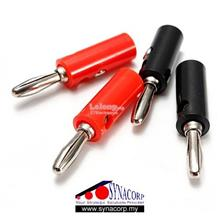 Banana Plug 4mm Red / Black