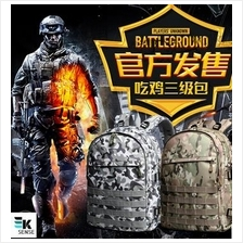 Official!! PUBG Level 3 Laptop Bagpack with USB Charging (2855)