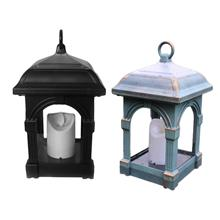Solar Candle Lamp Outdoor Courtyard Candlesticks Hanging Lantern Light