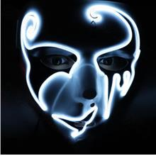 Halloween Mask LED Masks Glow Scary Mask Cosplay for Party Festival C ..