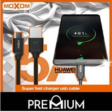 Moxom CC-45 Type-C 5A 1M Super Fast Charging Data USB Cable