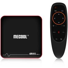 MECOOL M8S PRO W Android TV OS TV Box with Voice Remote Control Amlogi..