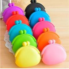 03573 Sweet Candy Color Who Must Tasteless Quality Silicone Cute Purse