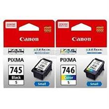 GENUINE CANON PG-745 (S) BLACK + CL-746 (S) COLOR INK CARTRIDGE **NEW*