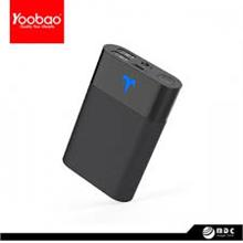 YOOBAO 10200MAH 2 OUTPUT 2A POWER BANK (YBT1) BLACK