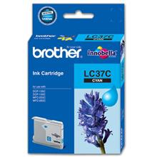 GENUINE BROTHER LC-37 CYAN INK CARTRIDGE **NEW**SEALED BOX