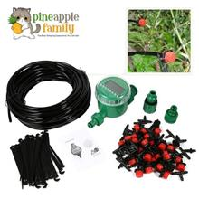 1 Set 20m Plant Self Watering Drip Irrigation Timer/Micro System Garde