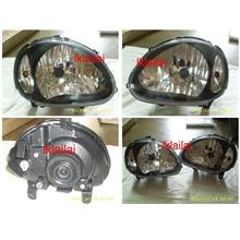 DEPO Perodua Kelisa Head Lamp Crystal Black Option to Add DRL