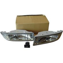 Toyota Altis `01-`07 Fog Lamp Crystal W/ Wiring + Switch [TY15-FL01-U]