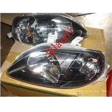 DEPO Honda Civic `99 S04/EK/S21 Head Lamp Crystal Black [HD12-HL02-U]