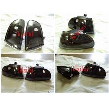 Honda Civic `92 SR/EG 2D Corner Lamp Crystal Black [HD11-CL04-U]
