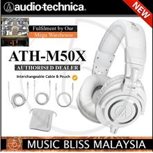 Audio-Technica ATH-M50x Professional Monitor Headphone White (M50x)