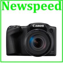 Canon PowerShot SX430 IS 45X Optical WiFi Digital Camera +16GB+Case