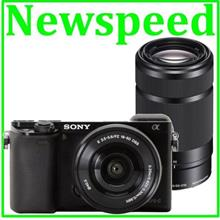 Sony A6000 16-50mm + 55-210mm Twin Lens +16GB+Bag (MSIA)