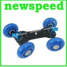 New Table Top Dolly Skater Wheel Shooting Car for DSLR Video Camera