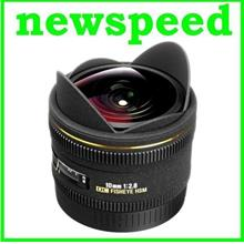 New Canon Mount Sigma 10mm F2.8 EX DC FISHEYE HSM Lens (Import)