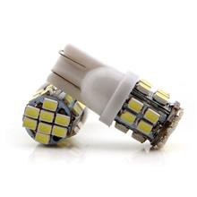 T10 24SMD 1206 3020 LED Car Wedge Light Auto License Plate Clearance Lamp 2PCS