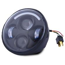 OL - H57501 10 - 30V 40W 5.75 INCH LED HARLEY HEADLIGHTS ROUND DISTANCE LIGHT