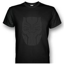 Black Panther T-shirt Black Prints