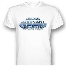 Alien USCSS Covenant Crew T-shirt