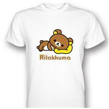 Rilakkuma Relax Bear White T-shirt
