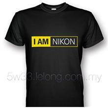 'I AM NIKON' Custom Print T-shirt