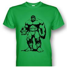 The Incredible Hulk Green T-shirt