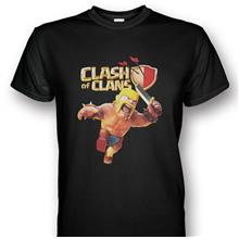 Clash Of Clans Barbarian T-shirt