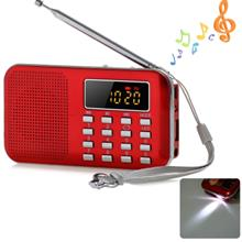 Mini Multifunctional Digital LCD MP3 Radio Speaker Player Support TF C..