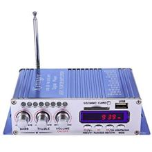 HY - 502 USB FM AUDIO CAR STEREO AMPLIFIER RADIO MP3 SPEAKER LED HI-FI 2 CHANN