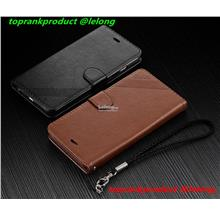 Huawei Mate 10 Pro Flip PU Leather Card Slot Case Cover Casing + Sling