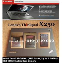 IBM LENOVO THINKPAD X250 Intel Core i7-5600u/4G/500G-HD/12.5'IPS/W7P